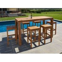 Bairo Teak Bar Stool