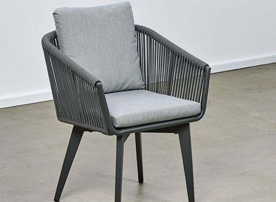 Diva Aluminium Rope Chair