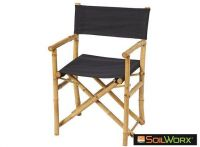 Sahnish Director's Chair Black