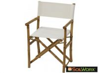Sahnish Director's Chair White