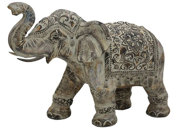 XXL Elephant Figurine-Ombre Finish