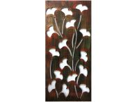 Lily Copper Wall Art