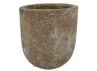 Lava Rock Jam Pot - Brown