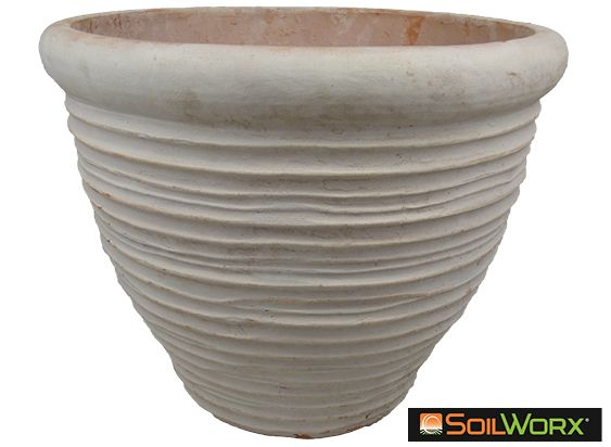 Terracotta Band Pot