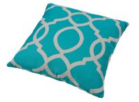 Torquay Teal Cushion