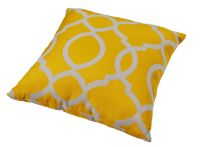 Torquay Yellow Cushion
