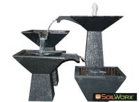 Three Tier Cascade Fountain Large