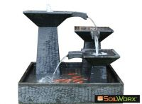 Three Tier Cascade Fountain Medium